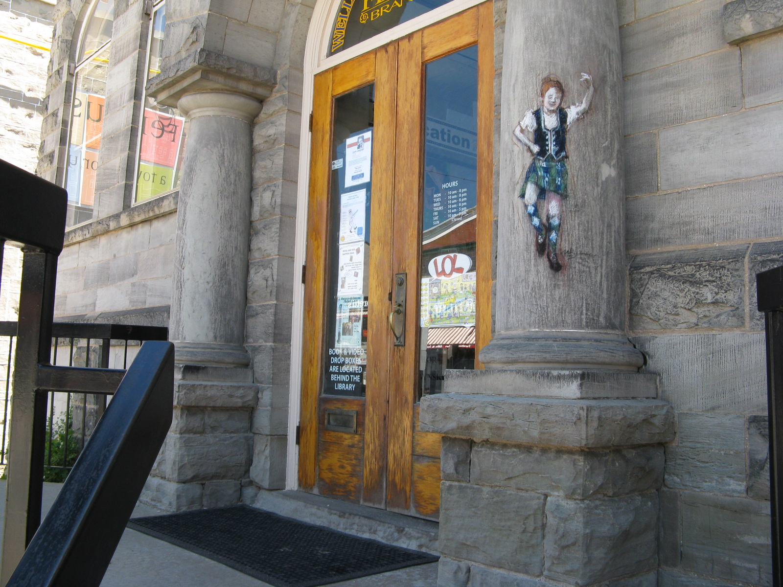 Doors Open at Fergus Library - carnegie Building celebrates 100th Anniversary