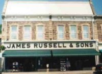 Department store James Russell & Sons in 2000 (closed 2008)