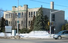 Picture of the former highschool building