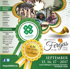 Fergus Fall Fair Book